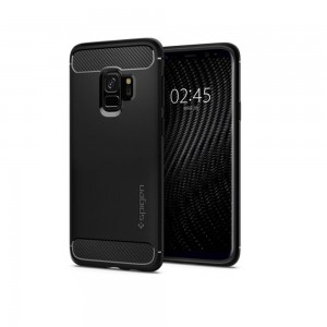 Etui SPIGEN Rugged Armor do Samsung Galaxy S9 - czarne